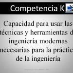 Competencia K